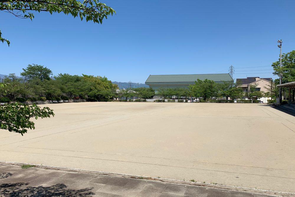 櫛形総合公園 ゲートボール場